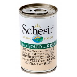 Schesir Cat Jelly - Chicken fillets with Rice