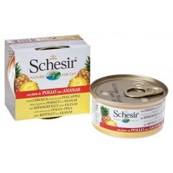 Schesir Cat Fruit - Chicken fillets and Pineapple