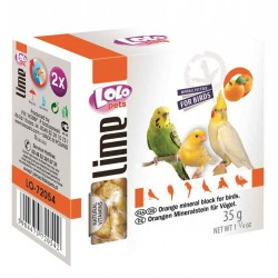 Lolo Pets Orange Mineral Block