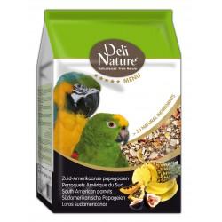 Deli Nature 5★ menu - South American Parrots