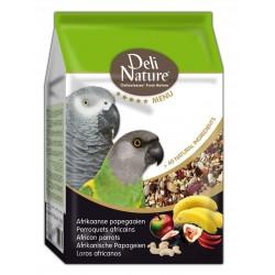 Deli Nature 5★ menu - African Parrots