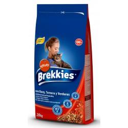 Brekkies Cat  Mix Beef  20kg