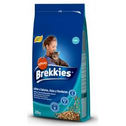 Brekkies Cat Mix Fish  20kg