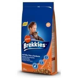 Brekkies Cat Mix Chicken  20kg