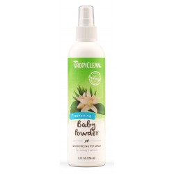 TropiClean Baby Powder Deodorizing Pet Spray 236ml