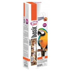 Lolo Pets Sticks XXL Big Parrots Nut/Fruit  250gr