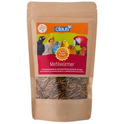Claus Dried Mealworms  75gr