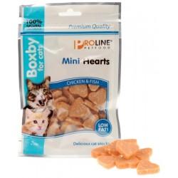 Boxby Cat mini hearts